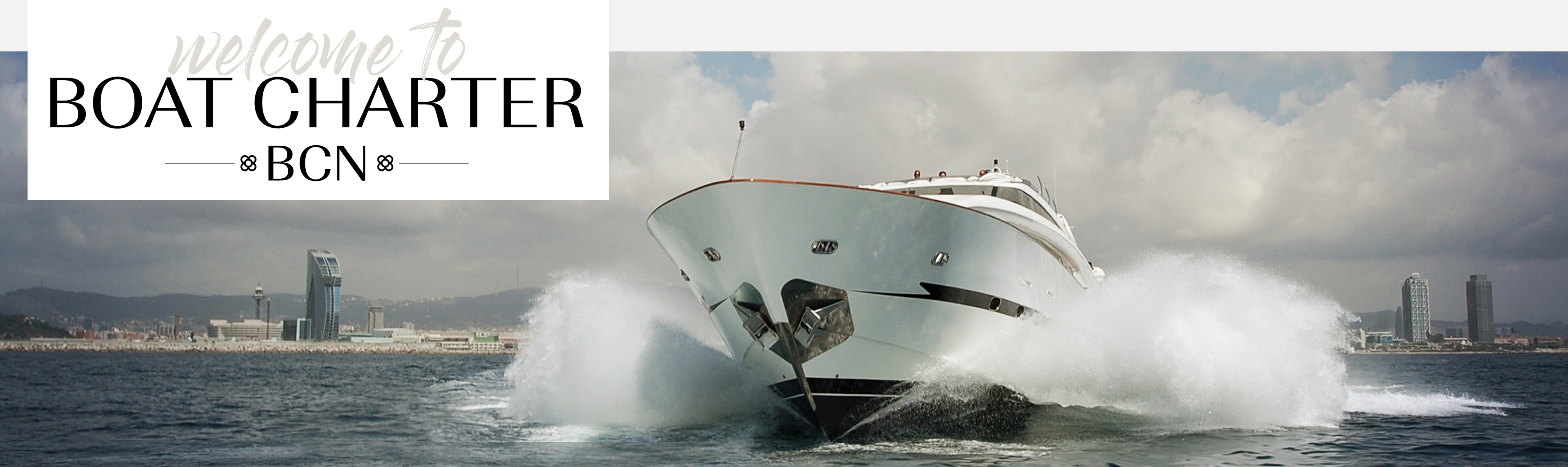 Welcome to Boat Charter BCN